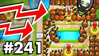 CAN WE GET TO LEVEL 100+ WITH ONLY COBRA TOWERS?! | Bloons TD Battles Gameplay Part 241