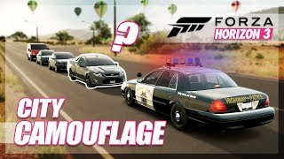 Forza Horizon 3 - City Camouflage! (Throwback w/The Crew)