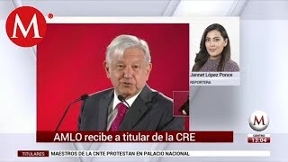 AMLO se reúne hoy con titular de la CRE, tras acusarlo de conflicto de interés