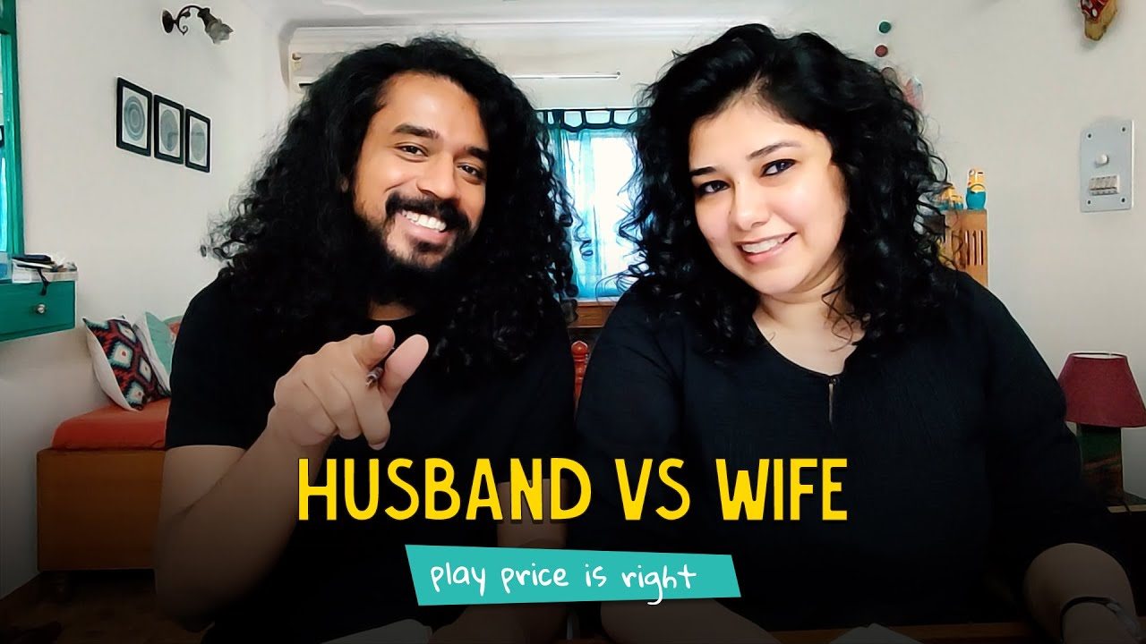 Husband Vs Wife; Play Price Is Right    Ok Tested