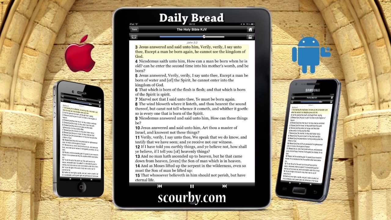 Scourby com Re-Masters the KJV Audio Bible for Bible Mp3