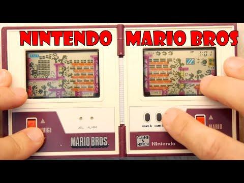 Retro Classic Nintendo Game and Watch - Mario Bros