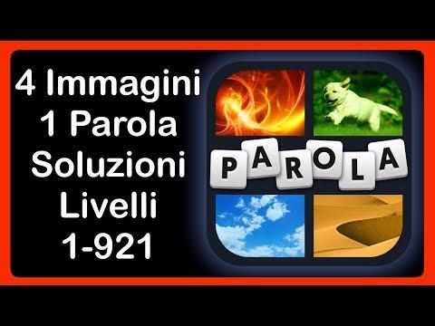 4 Immagini 1 Parola - Livelli 1 - 921 [HD] (iphone, Android, IOS)