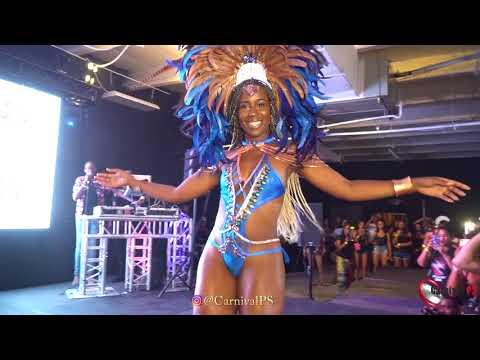 Miami Carnival 2018 Euphoria Mas costume Presentation [miami carnival ps 2018]