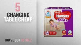 Top 10 Changing Table Cheap [2018]: Huggies Wonder Pants Medium Size Diapers (72 Count)