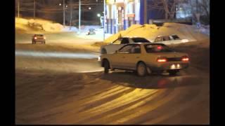 Зимний дрифт г.Новосибирск (Winter drift in Novosibirsk)
