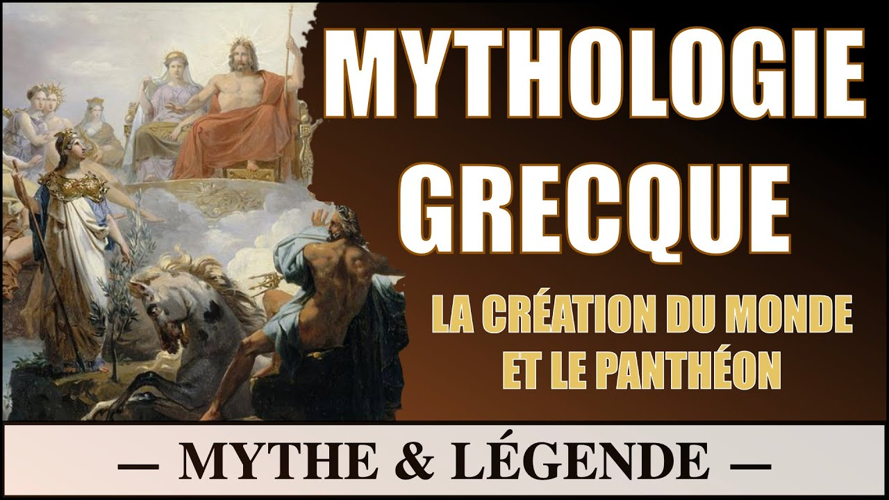 La Mythologie Grecque - Cosmogonie et Panthéon