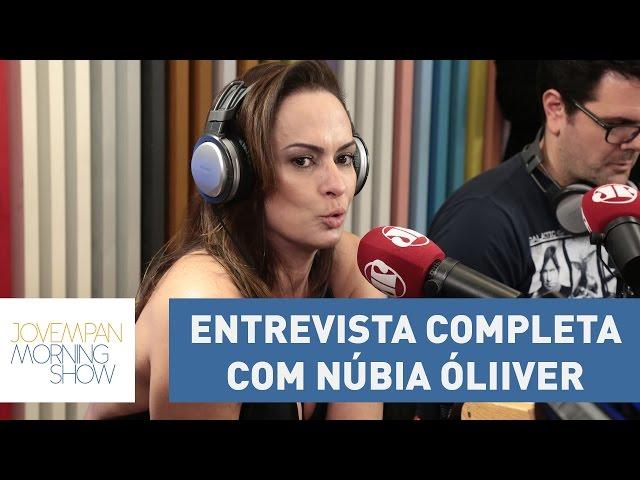 Confira a participação completa de Núbia Óliiver no Morning Show