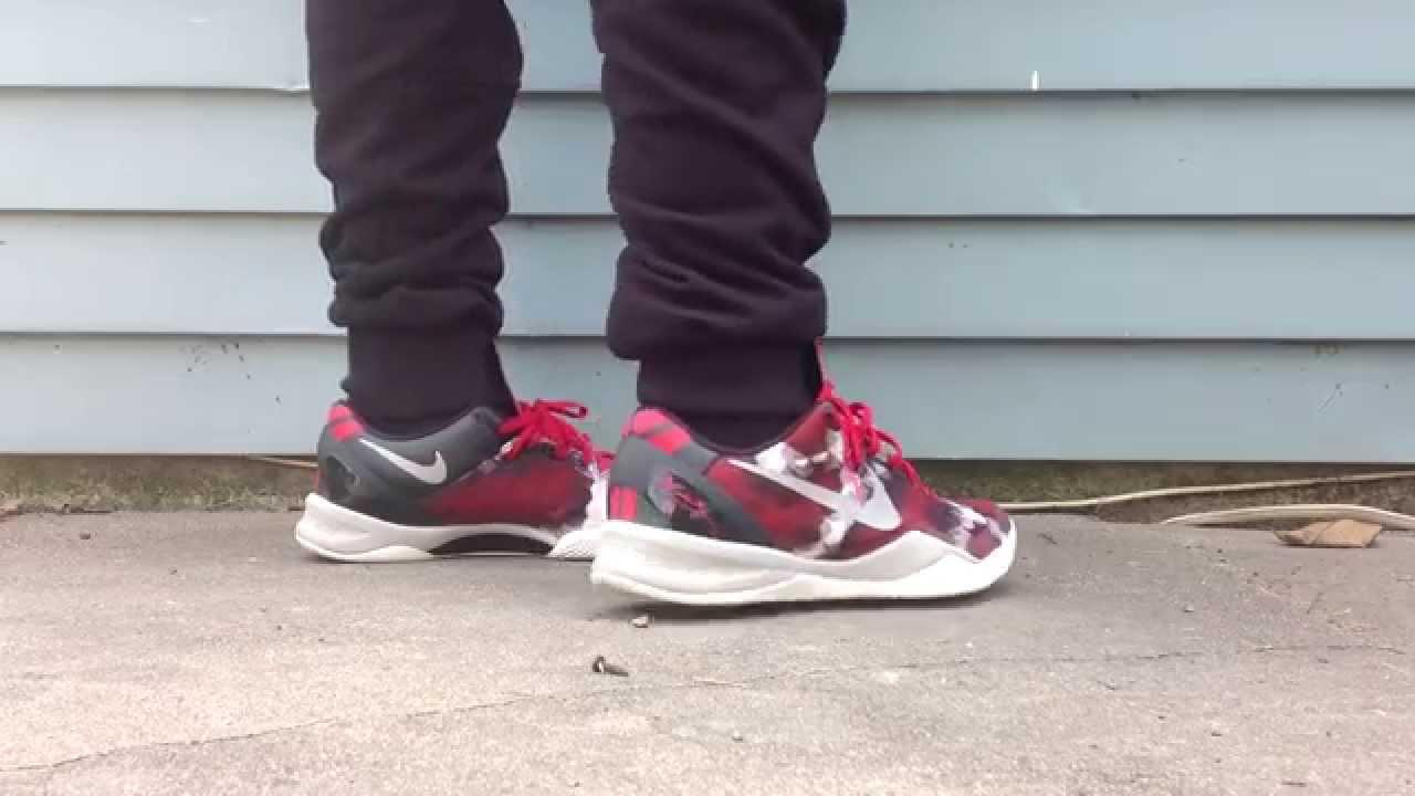 half off eab37 bc723 Kobe 8 Milk Snakes review + on foot - YouTube