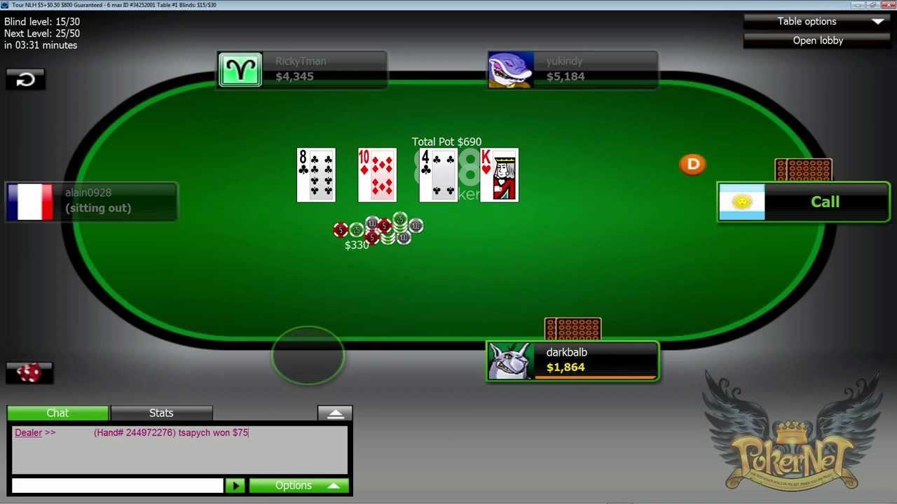 888 Poker Com