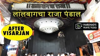 After Visarjan | Lalbaugcha Raja Pandal | Harshad's Travel Vlogs