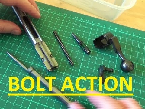 Bolt Action CZ 452 how to clean