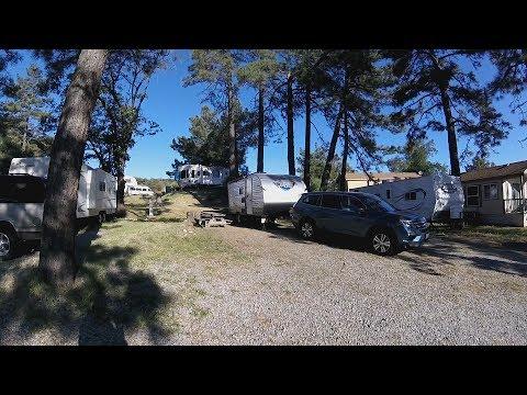 RV camping @ KQ Ranch, Julian, California - YouTube