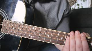 Radioactive - Acoustic Guitar Tutorial