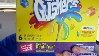 Reed Reviews Fruit Gushers Variety Pack(Playlist http://www.youtube.com/playlist?list=PLm_L2S1tVD9Xa-aA_w2y1fexLjYuvRSo6 Reed Napier Po Box 1407 Pineville KY 40977 Created by ..., 2014-07-07T17:25:50.000Z)