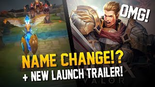 Strike of Kings News: GAME RENAMED!? + HYPE LAUNCH TRAILER!!