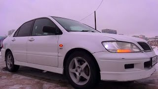 2002 Mitsubishi Lancer Cedia Touring. Start Up, Engine, and In Depth Tour.