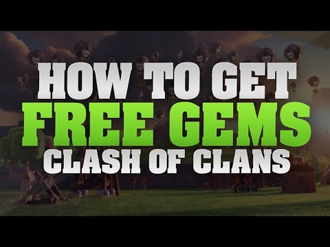Clash of Clans - How to Get FREE Unlimited Gems