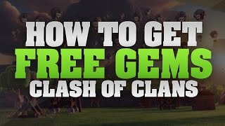 "Clash Of Clans - How To Get FREE Unlimited Gems ""No Survey/No Hacks!"" (January 2017)"