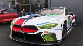 BMW M8 GTE at the Le Mans 24 Hrs