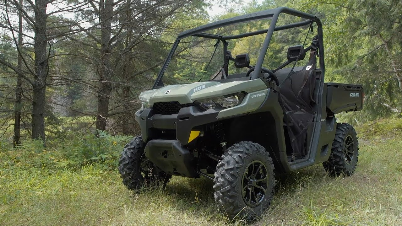 Full Review 2017 Can Am Defender Hd8 Dps