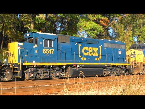CSX Tropicana Juice Train & Others In Relay, Maryland