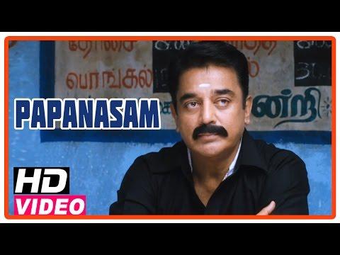 Papanasam Tamil Movie | Scenes | Kamal Haasan gives advice to the villagers | Kalabhavan Mani