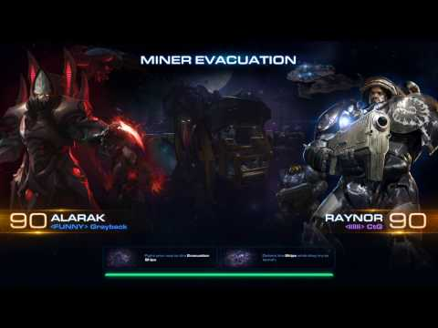 Starcraft 2 Co-op new map Miner Evacuation