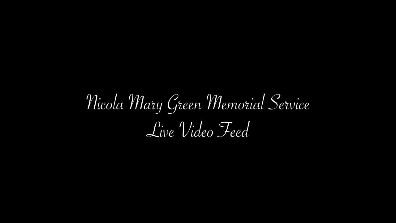 Nicola Mary Green Memorial Service