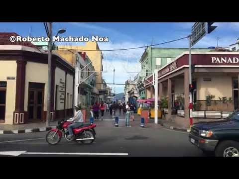 Cuba tourism travel: Lifestyle of Cuban people in Santiago de Cuba city.