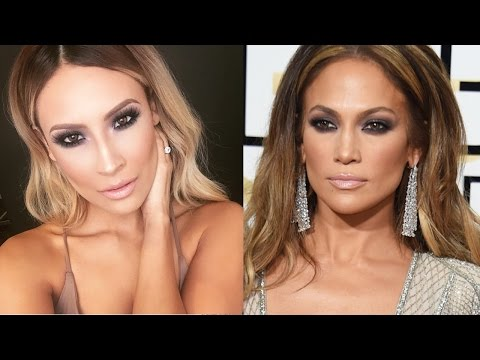 jlo Golden Globes Makeup Tutorial - Desi Perkins