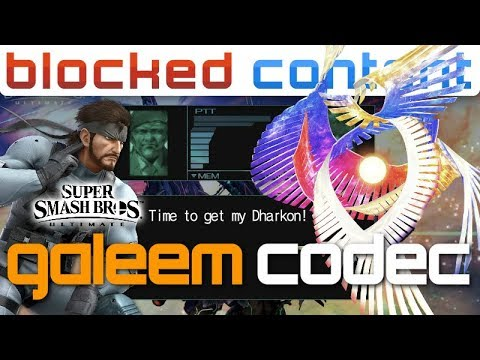 GALEEM vs Snake CODEC CALL Conversation (Super Smash Bros. Ultimate) thumbnail