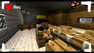 Фильм Паранормальное явление Ночь в Minecraft 2/2