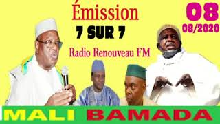 RADIO RENOUVEAU FM  Émission 7SUR7-08/08/2020