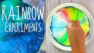 4 Cool Rainbow Science Experiments for Teens | DIY