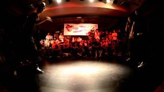 """That Spirit"""" Bboy Battle 2011 Bboy Battle TOP16 HONG KONG Galaxy (HK)  VS ninteen soul (zhongshan)"""