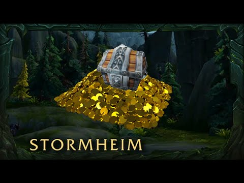 Legion   Stormheim   Amberfall Mesa   Glimmering Treasure Chest