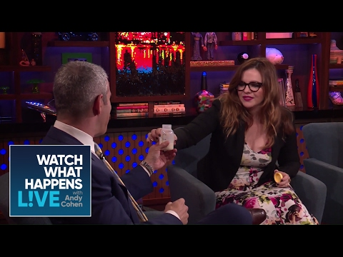 Andy Cohen Tries Amber Tamblyn's Breast Milk!  WWHL