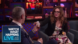 Andy Cohen Tries Amber Tamblyn's Breast Milk! | WWHL