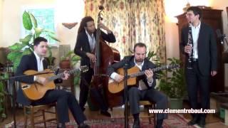 Swing 39 - Quartet jazz manouche avec clarinette pour mariages - Clément Reboul