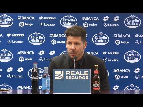 Rueda de prensa de Diego Simeone. 02.03.2017