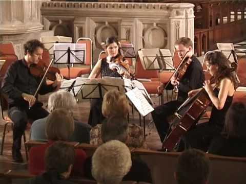 Bartok String Quartet No. 4 - Non troppo lento - Carducci String Quartet