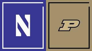 First Half Highlights: Purdue at Northwestern | Big Ten Basketball