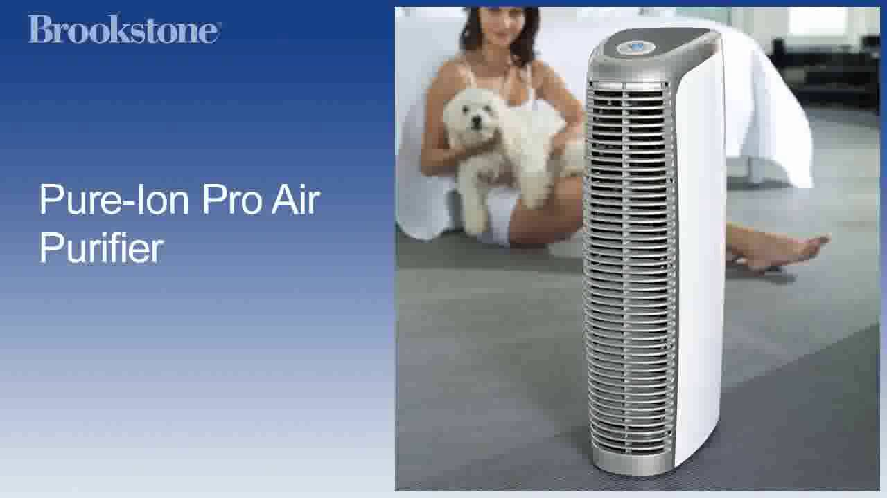 Pure Ion Bedroom Air Purifier And Humidifier Youtube