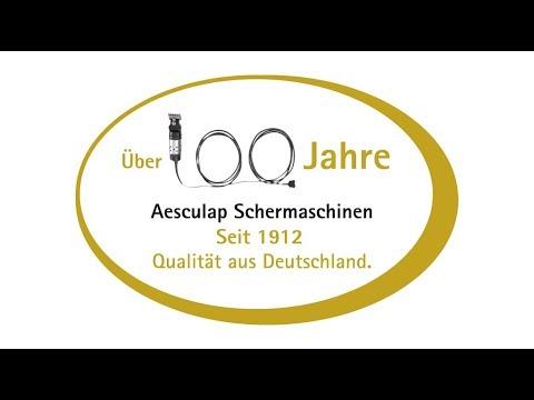 AESCULAP®  Schermaschinen - Qualität seit 1912