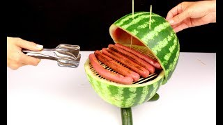 SMART WATERMELON BARBECUE MAKING