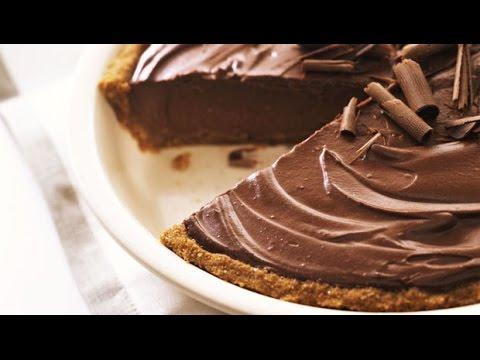 Easy Chocolate Pie | One Pot Chef