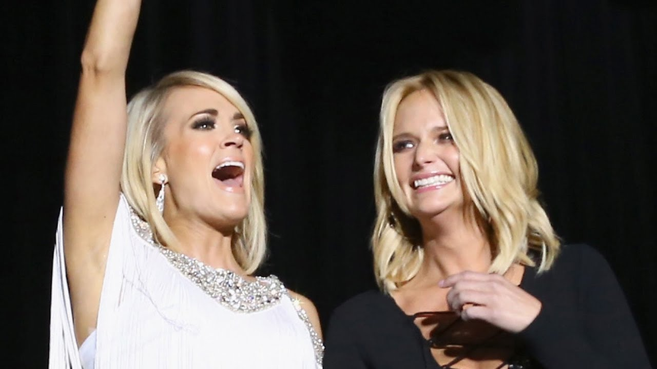 Carrie Underwood + Miranda Lambert Just Made Country Music History