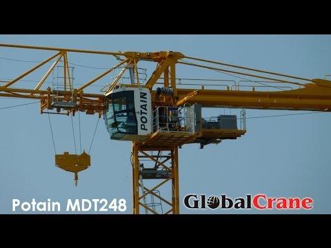 Башенный кран Potain MDT 248