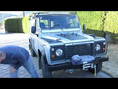 Sound Insulating a Land Rover Defender